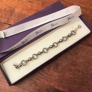 {JILCO} Sterling Silver Caviar Bead Bracelet